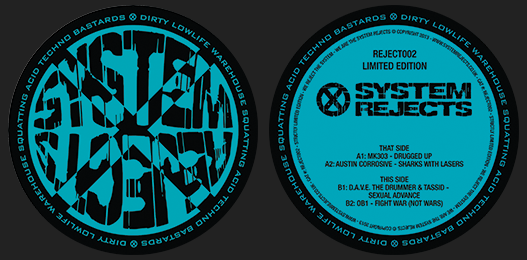 System Rejects 002 Vinyl – SOLD OUT