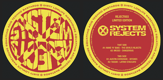 System Rejects 003 Vinyl – SOLD OUT