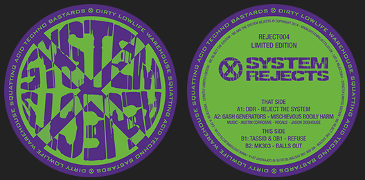 System Rejects 004 Vinyl – SOLD OUT