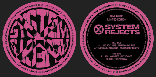 System Rejects 005 Vinyl
